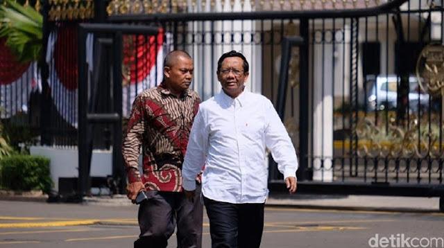 Mahfud Md: Saya Tak Perlu Nawar, Jokowi Tahu yang Cocok untuk Saya