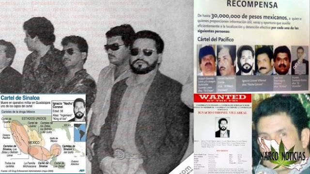 """A """"El Rey del Cristal"""" Nacho Coronel Los Zetas le secuestraron aun hijo, en respuesta Nacho levanto a la esposa de Héctor Beltrán Leyva El H"""