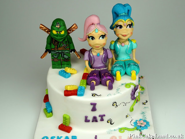 Shimmer and Shine Cake London