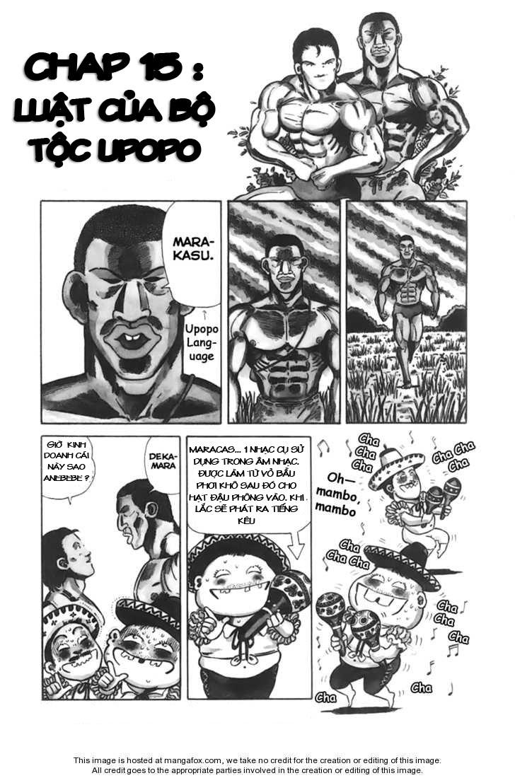 Chúa rừng Ta-chan chapter 15 trang 2
