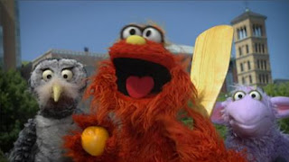 Murray and Ojevita introduce the letter letter of the day O, Sesame Street Episode 4416 Baby Bear's New Sitter season 44