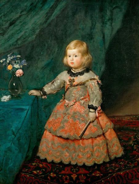 Диего Веласкес - Портрет принцессы Марии Маргариты (ок.1654)
