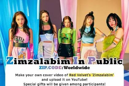 Lomba Kompetisi dan Syarat Ikut Dance Cover Zimzalabim In Public Red Velvet 2019
