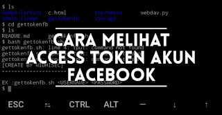 Cara Mengetahui Access Token Facebook