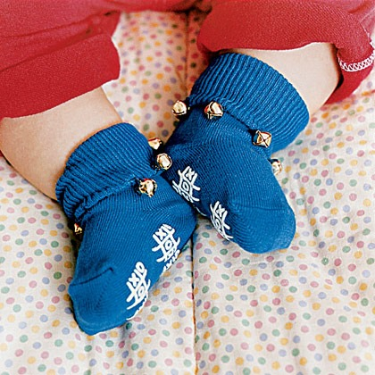 Jingle-Bell Socks