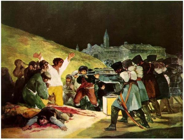 Os fuzilamentos de 3 de maio de 1808