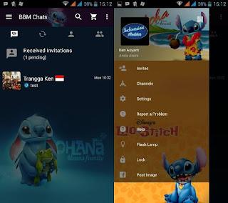 BBM Mod v2.11.0.18 Clone - Stitch Terbaru