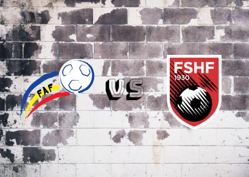 Andorra vs Albania  Resumen