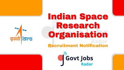 SDSC recruitment notification 2019, govt jobs for ITI, central govt jobs, govt jobs in India