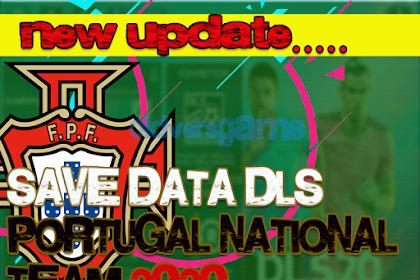 Save Data Dream League Soccer Portugal National Team 2020-2021 New Update