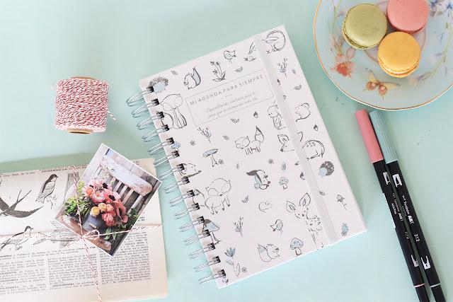Mi agenda para siempre: planificación semanal