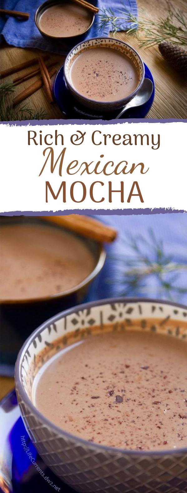 Mexican Mocha #warmdrink #easyrecipe