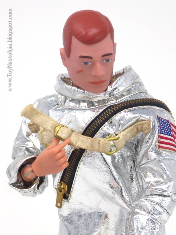 ACTIONMAN Astronauta Traje espacial - correas de ajuste (ACTION MAN ASTRONAUT  HASBRO-PALITOY)