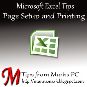 MS Excel Tips by Marks PC