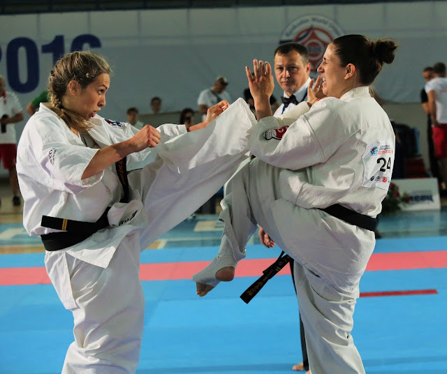 Aneta Meskauskiene women in sport karate