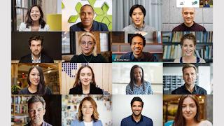 ara Menampilkan Semua Peserta di Google Meet