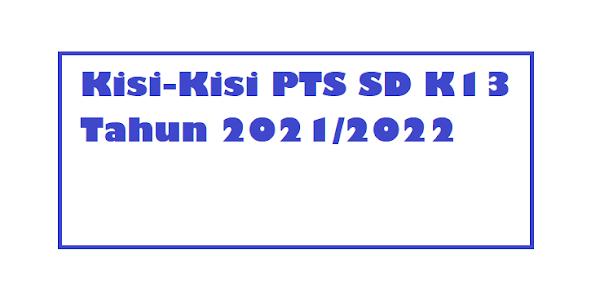 gambar Kisi-Kisi PTS SD Semester 1