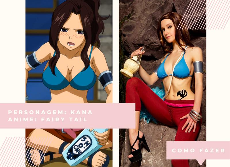 Cosplay feminina fácil de fazer Fairy Tail