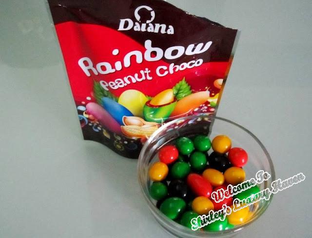 daiana chocolates rainbow peanut chocolates