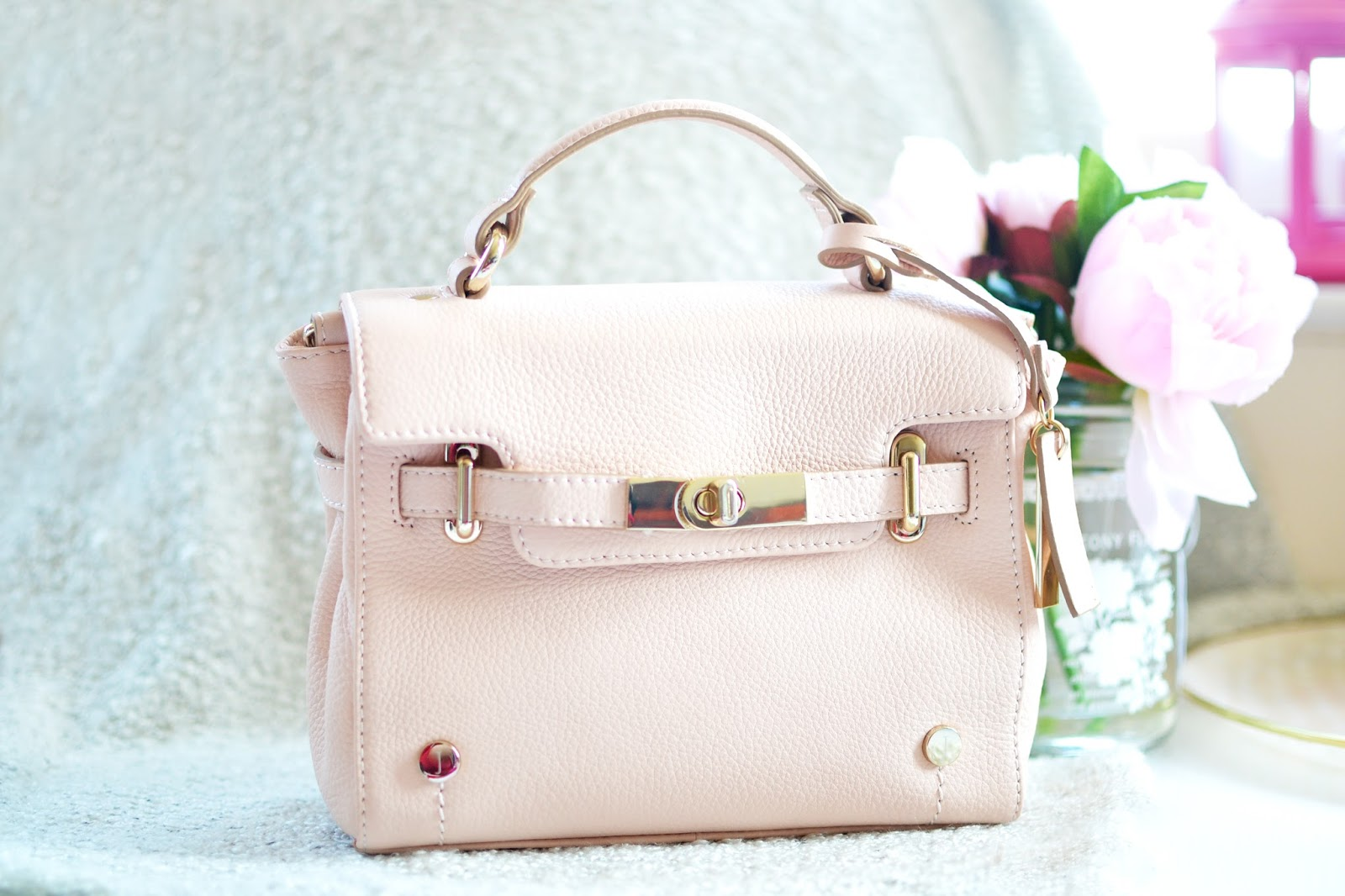 Pink mini bag by jasper conran