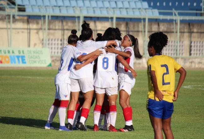 Mininas do Fortaleza lidera Grupo B do Brasileiro A2