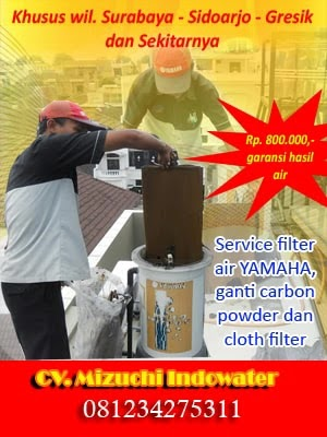 Service maintenance yamaha water purifier OH300