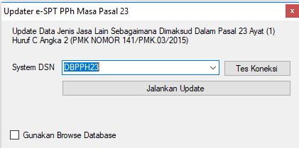 Update PPh 23