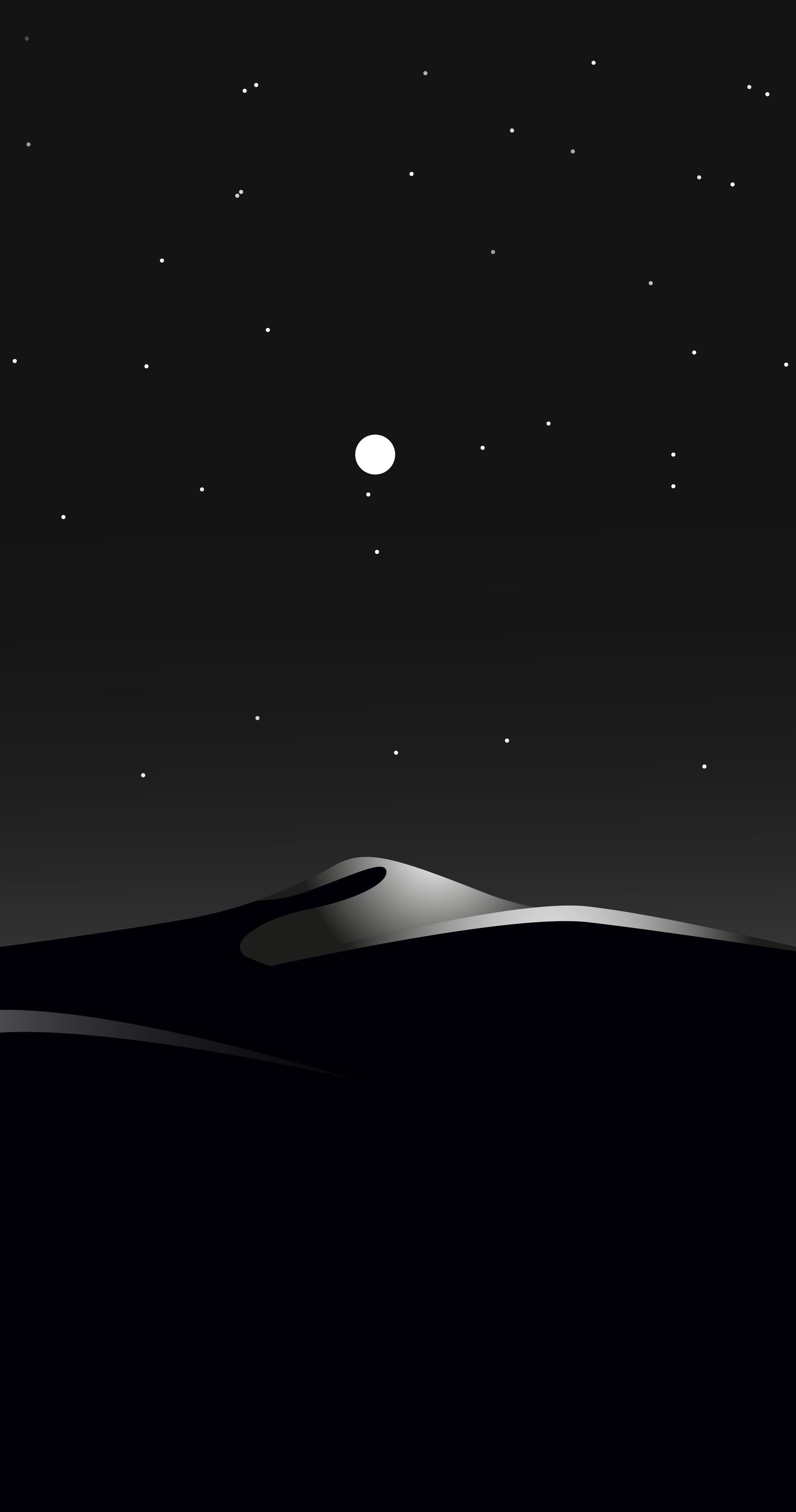 Dark Night Mobile Wallpaper