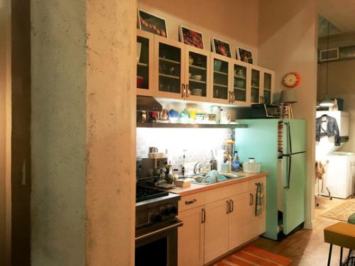 Supergirl Apartment Kitchen