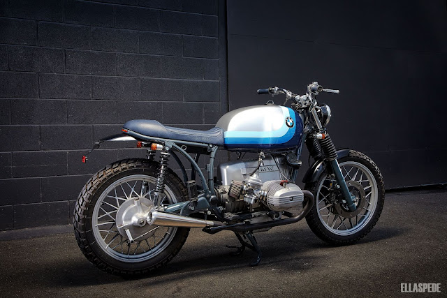 BMW R100RT 1982 By Ellaspede Hell Kustom