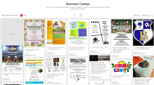 Looking for Summer Camps?