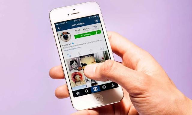 Cara Menyembunyikan Following Instagram