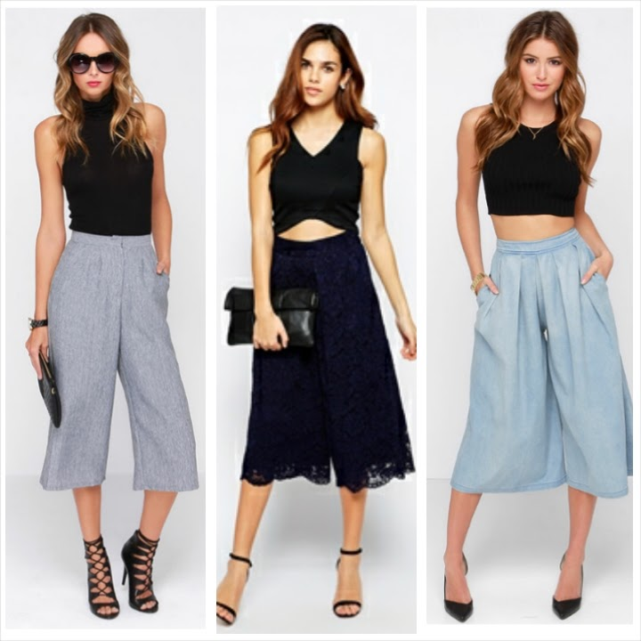 Five ways to wear the hottest culottes this summer