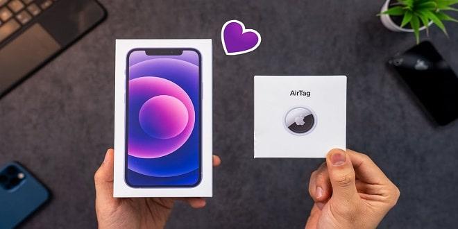 Review iPhone 12 Purple dan Apple Airtag!