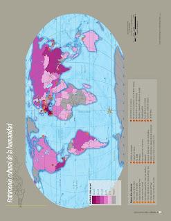 Apoyo Primaria Atlas de Geografía del Mundo 5to. Grado Capítulo 3 Lección 2 Patrimonio Cultural de la Humanidad