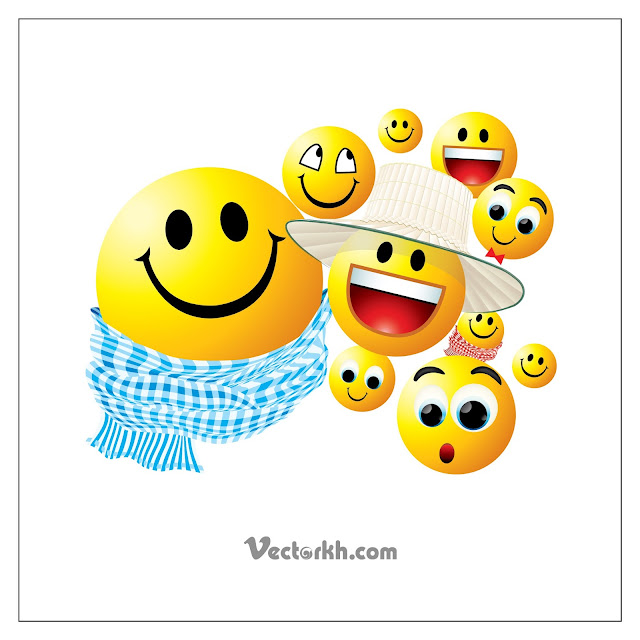 Faceless Man And Different Faces With Emotions Free Vector Vectorkh