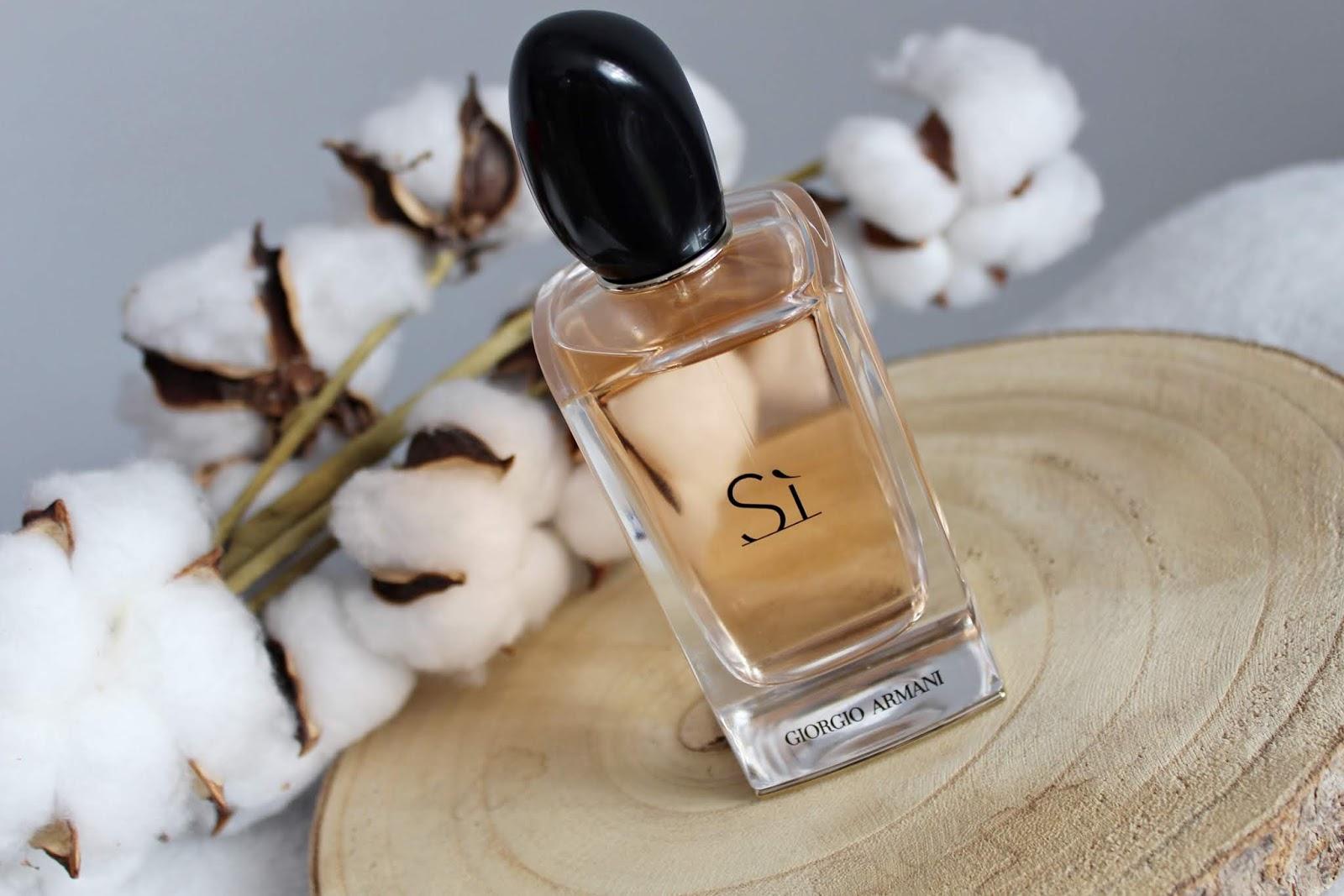 Giorgio Armani Si perfumy. Idealne perfumy na jesień i zimę