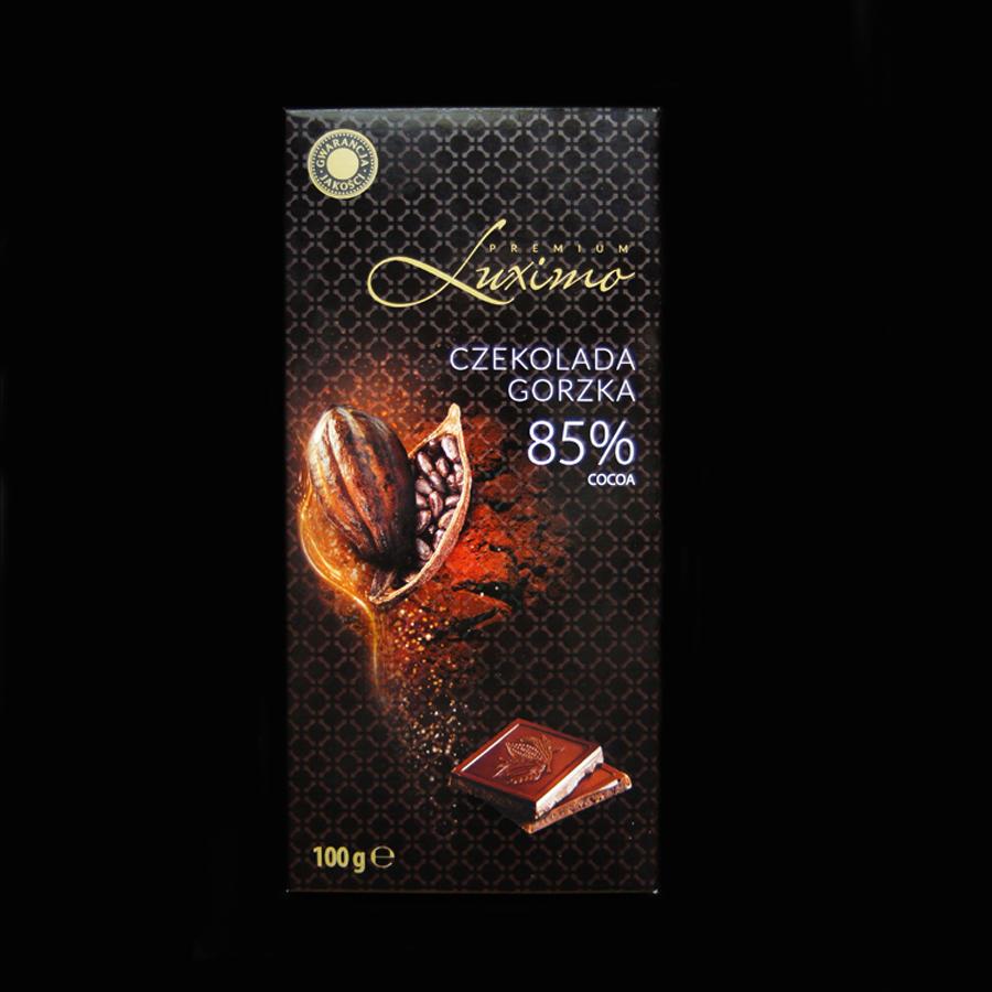 czekolada gorzka, czekolada deserowa, czekolada z biedronki