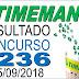 Resultado da Timemania concurso 1236 (25/09/2018) ACUMULOU!!!