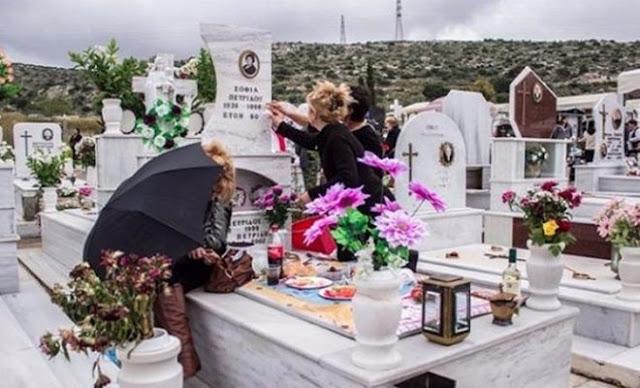 Γιατί ανάβουμε κεριά και καντήλι στους τάφους