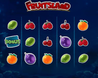 FruitsLand slot machine game with many fruits