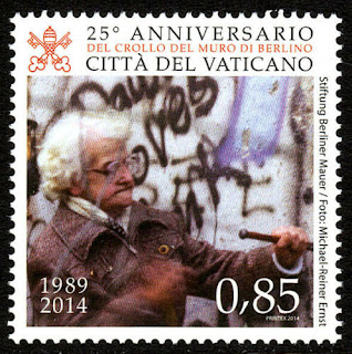 Vatican Fall of the Berlin Wall, 25th anniv. 2014