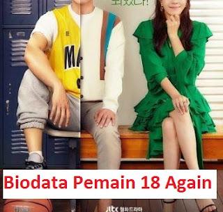 Biodata Pemain Drama Korea 18 Again
