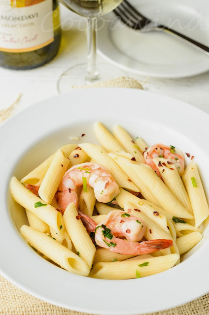 Pasta with Shrimp: Quick and Easy
