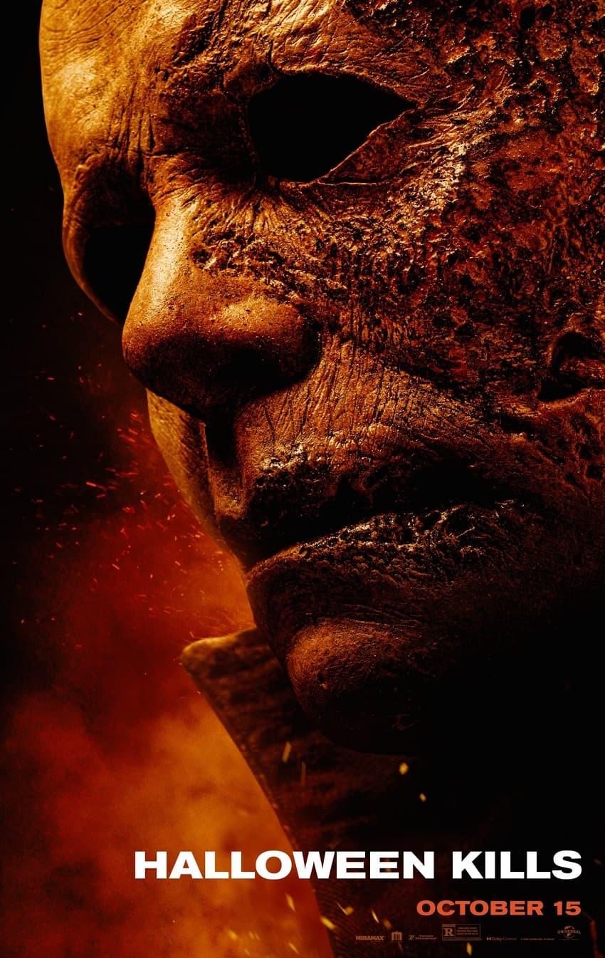 Майкл Майерс на свободе! Universal показала свежий трейлер хоррора «Хэллоуин убивает» - Постер