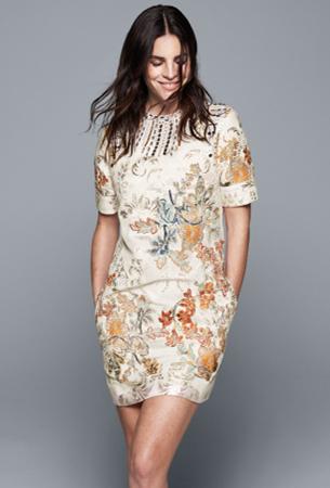 vestido sostenible de H&M Conscious Exclusive 2016
