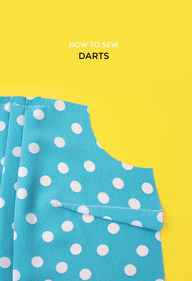 How to sew darts - Tilly and the Buttons