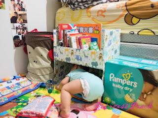 DIY 寶寶書櫃