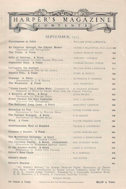 Harper's Magazine - September 1913