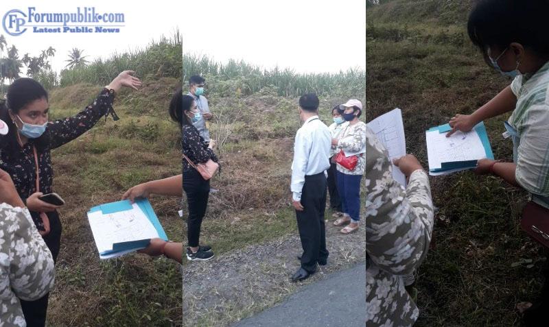 BPN Deli Serdang Lakukan Peninjaun Lapangan atas Lahan HGU PTPN II